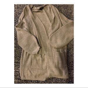Sweaters - Grey Target Cardigan